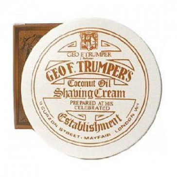Geo F Trumper Shaving Cream Bowl Coconut