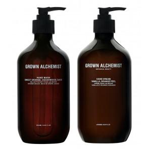 SET: Grown Alchemist Hand Wash & Hand Cream