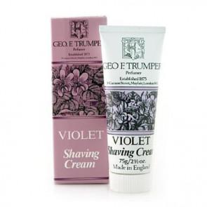 Geo F Trumper Shaving Cream Tube Violet