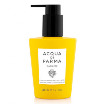 Acqua di Parma Barbiere Hair Brightening Shampoo for White and Grey Hair