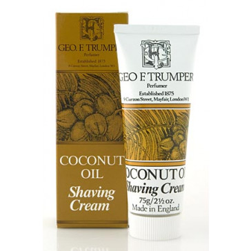 Geo F Trumper Shaving Cream Tube Coconut