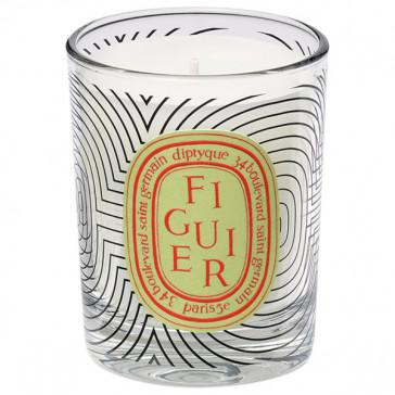 Diptyque Dancing Ovals Scented Candle Figuier 70 gr