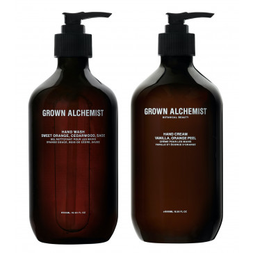 SET: Grown Alchemist Hand Wash & Hand Cream