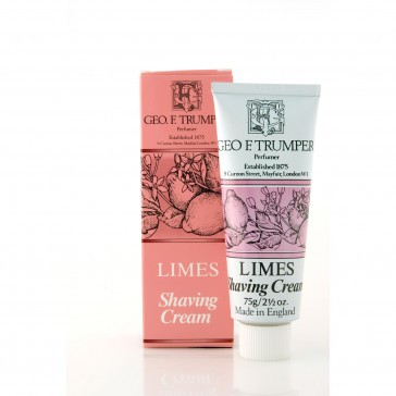 Geo F Trumper Shaving Cream Tube Limes