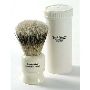 Geo F Trumper Shaving Brush Travel Case