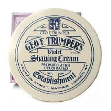 Geo F Trumper Shaving Cream Bowl Violet