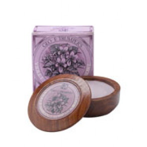 Geo F Trumper Shaving Soap Wooden Bowl Violet