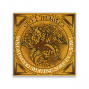 Geo F Trumper Shaving Cream Bowl Sandelwood