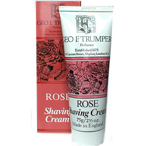 Geo F Trumper Shaving Cream Tube Rose