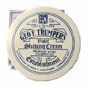 Geo F Trumper Shaving Cream Bowl Violet