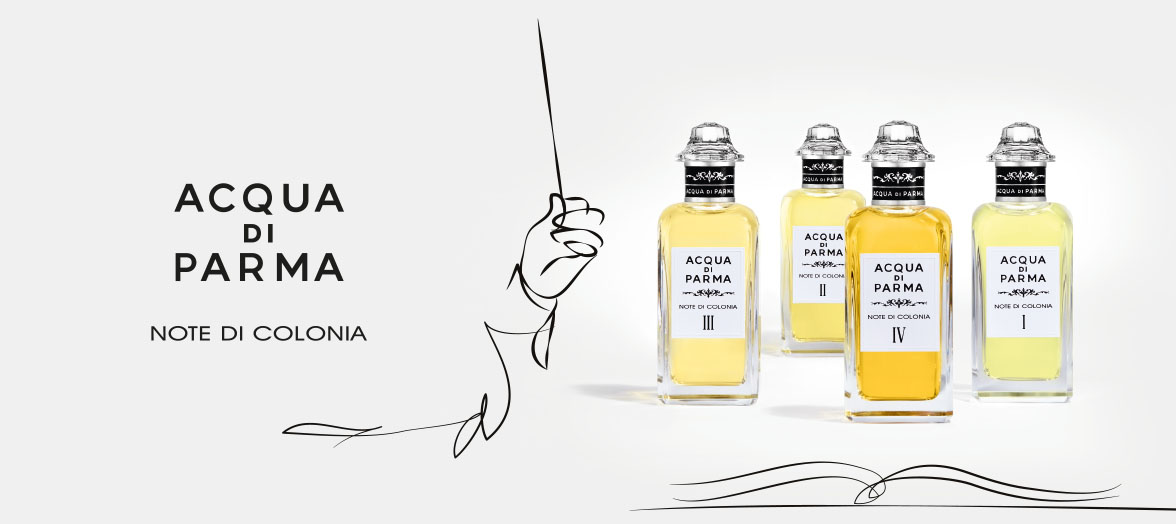 Acqua di Parma's Note di Colonia