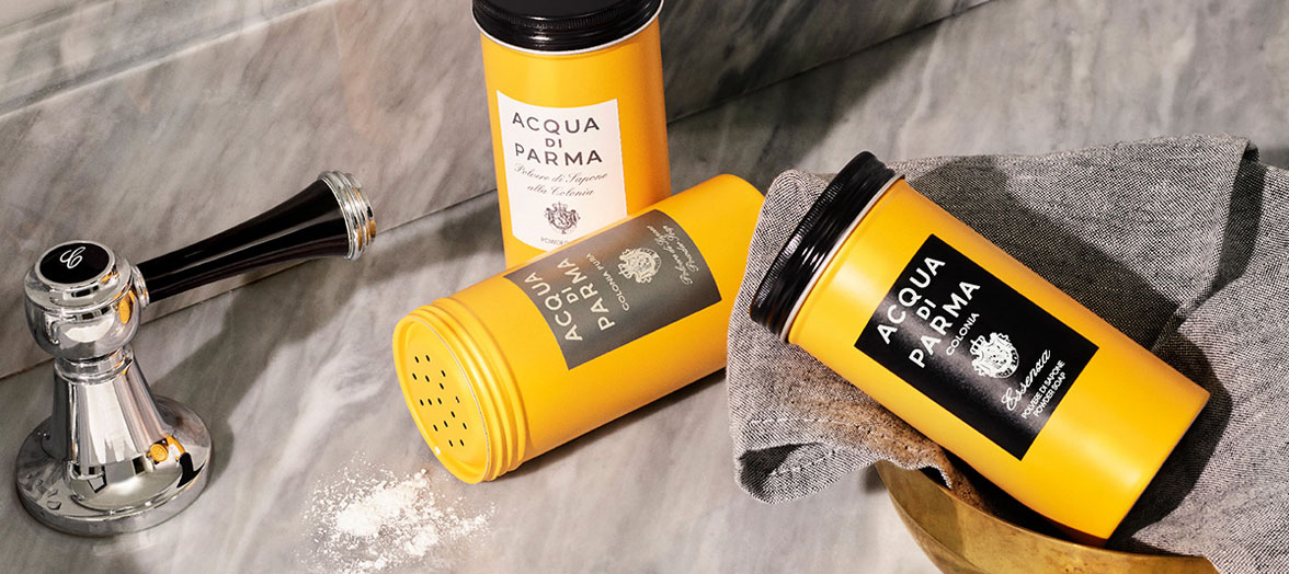 Powder soaps by Acqua di Parma