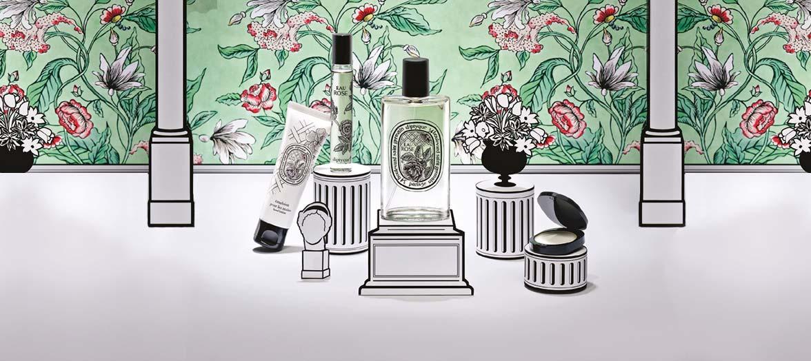 Diptyque Eau Rose Collection